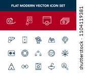 modern  simple vector icon set...   Shutterstock .eps vector #1104119381