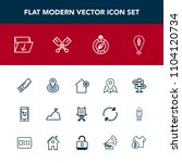 modern  simple vector icon set...   Shutterstock .eps vector #1104120734