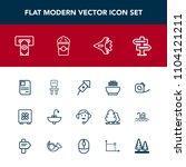 modern  simple vector icon set...   Shutterstock .eps vector #1104121211
