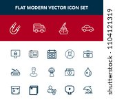 modern  simple vector icon set... | Shutterstock .eps vector #1104121319