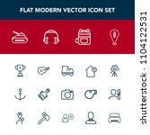 modern  simple vector icon set...   Shutterstock .eps vector #1104122531