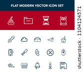 modern  simple vector icon set... | Shutterstock .eps vector #1104124571