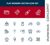 modern  simple vector icon set... | Shutterstock .eps vector #1104126947
