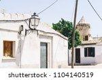 mediterranean old village... | Shutterstock . vector #1104140519