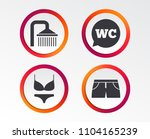 swimming pool icons. shower... | Shutterstock .eps vector #1104165239