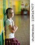 school student enviroment... | Shutterstock . vector #1104167477