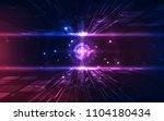 abstract futuristic digital... | Shutterstock .eps vector #1104180434