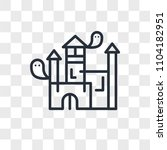 house vector icon isolated on... | Shutterstock .eps vector #1104182951