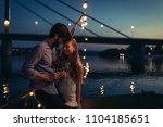 shot of young affectionate... | Shutterstock . vector #1104185651