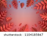 background template with... | Shutterstock .eps vector #1104185867