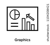 graphics icon vector isolated... | Shutterstock .eps vector #1104208421