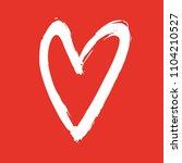 vector illustration of heart....   Shutterstock .eps vector #1104210527