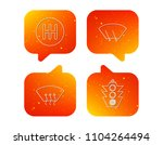 traffic lights  manual gearbox... | Shutterstock .eps vector #1104264494