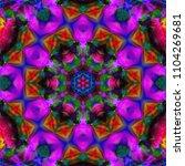 oriental patterns. decoration... | Shutterstock . vector #1104269681