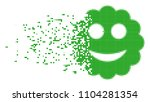 fractured smiled sticker dotted ...   Shutterstock .eps vector #1104281354