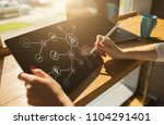 iot. internet of things.... | Shutterstock . vector #1104291401