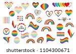 vector abstract doodles... | Shutterstock .eps vector #1104300671