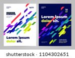 brochure layout template  cover ... | Shutterstock .eps vector #1104302651