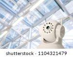 cctv security camera in...   Shutterstock . vector #1104321479