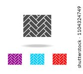 parquet icon. elements of... | Shutterstock .eps vector #1104324749