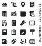 set of vector isolated black... | Shutterstock .eps vector #1104343781
