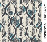 seamless vintage pattern with... | Shutterstock .eps vector #1104359924