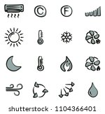 air conditioning or air... | Shutterstock .eps vector #1104366401