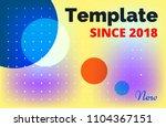 minimalistic gradient...   Shutterstock .eps vector #1104367151