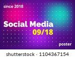 minimalistic gradient...   Shutterstock .eps vector #1104367154