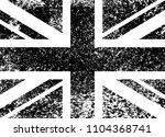 vintage union jack  great... | Shutterstock .eps vector #1104368741