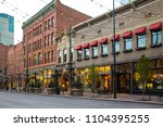 denver  colorado   may 1  2018  ... | Shutterstock . vector #1104395255