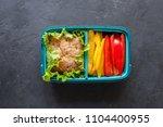 healthy food concept  | Shutterstock . vector #1104400955