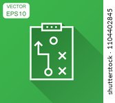 tactical plan document icon.... | Shutterstock .eps vector #1104402845