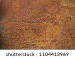 old rust texture. grunge... | Shutterstock . vector #1104413969