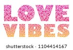 love. vector calligraphy... | Shutterstock .eps vector #1104414167