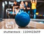 friends having fun while... | Shutterstock . vector #1104423659