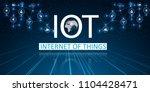 internet of things  iot  ... | Shutterstock .eps vector #1104428471