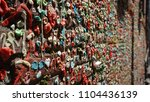 Small photo of Seattle Gum Wall is famous place in Washington State. It is recognize near the Public Market