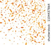 confetti of two colored rhombs... | Shutterstock .eps vector #1104437864