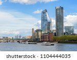panorama of south bank of the... | Shutterstock . vector #1104444035