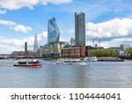 panorama of south bank of the... | Shutterstock . vector #1104444041