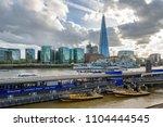 london  uk   appril 26  2018 ... | Shutterstock . vector #1104444545
