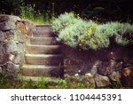 vintage style photo of a...   Shutterstock . vector #1104445391