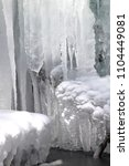 winter and frozen climate   Shutterstock . vector #1104449081
