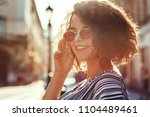 outdoor close up portrait of... | Shutterstock . vector #1104489461