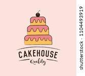 bakery elements vector... | Shutterstock .eps vector #1104493919