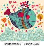 cartoon vector illustration | Shutterstock .eps vector #110450609