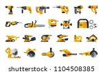 big flat icon collection of... | Shutterstock .eps vector #1104508385