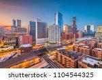Chicago  Illinois  Usa Downtow...