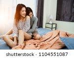 asian woman young lesbian... | Shutterstock . vector #1104551087